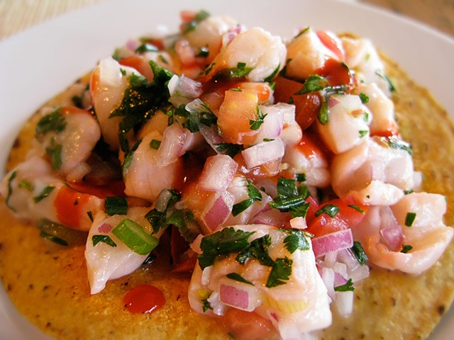 Thinking outside the bocks ceviche midwest beer collective for Shrimp and fish ceviche
